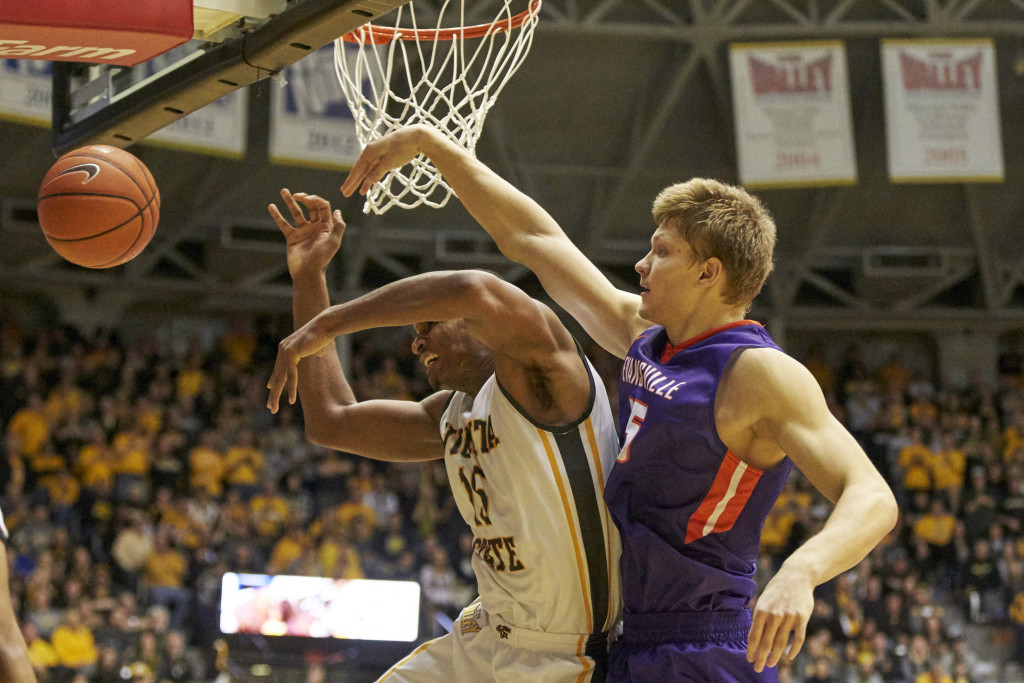 NCAA Basketball: Evansville at Wichita State