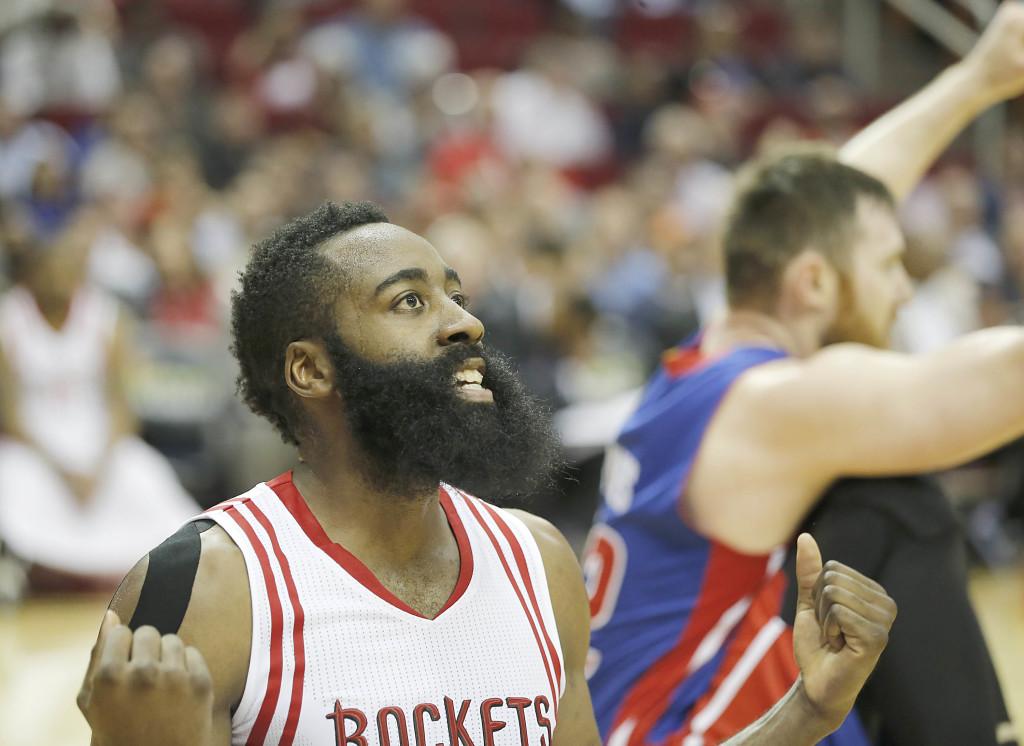 NBA: Detroit Pistons at Houston Rockets