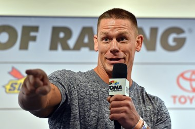 Jamie Little Dropped an Attitude Adjustment on John Cena at the Daytona 500