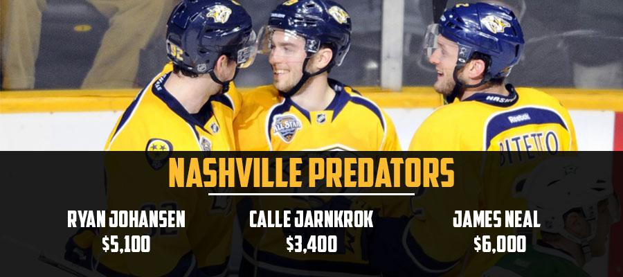 Predators Line Stacks