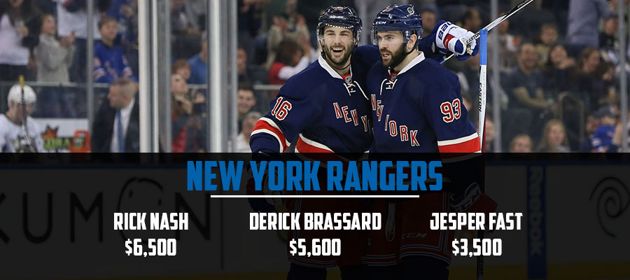 Rangers Line Stacks - March 23rd