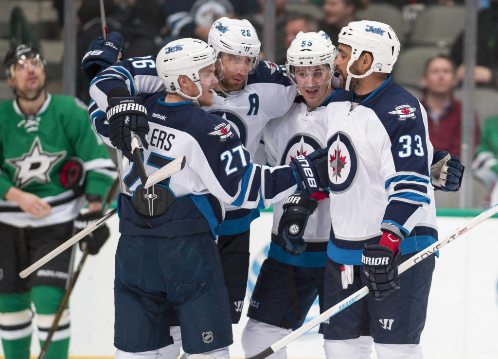 NHL: Winnipeg Jets at Dallas Stars
