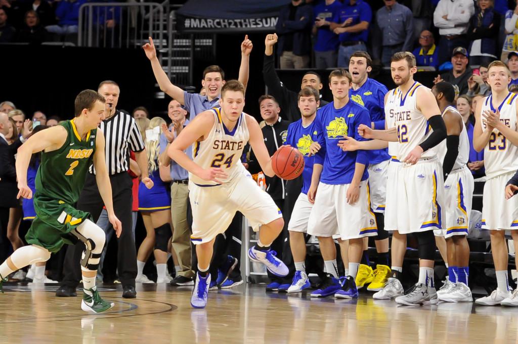 NCAA Basketball: Summit Conference Tournament-North Dakota State vs South Dakota State