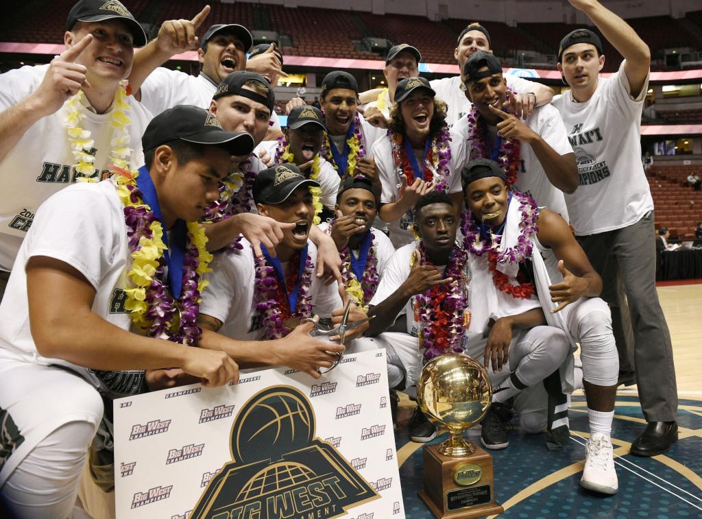 NCAA Basketball: Big West Conference Tournament-Hawaii vs Long Beach State