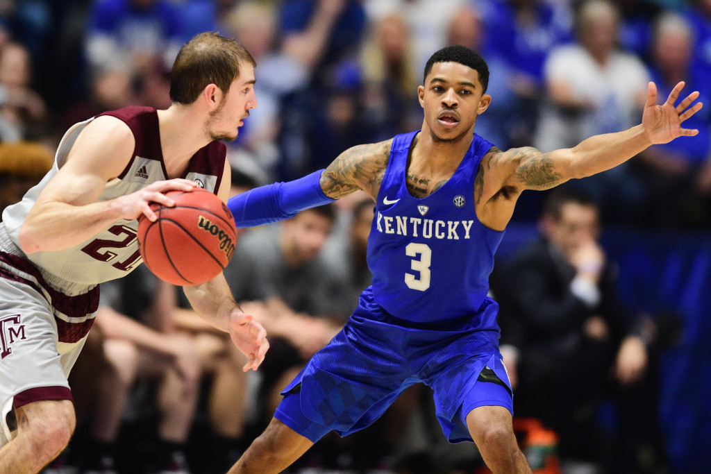 NCAA Basketball: SEC Tournament-Kentucky vs Texas A&M