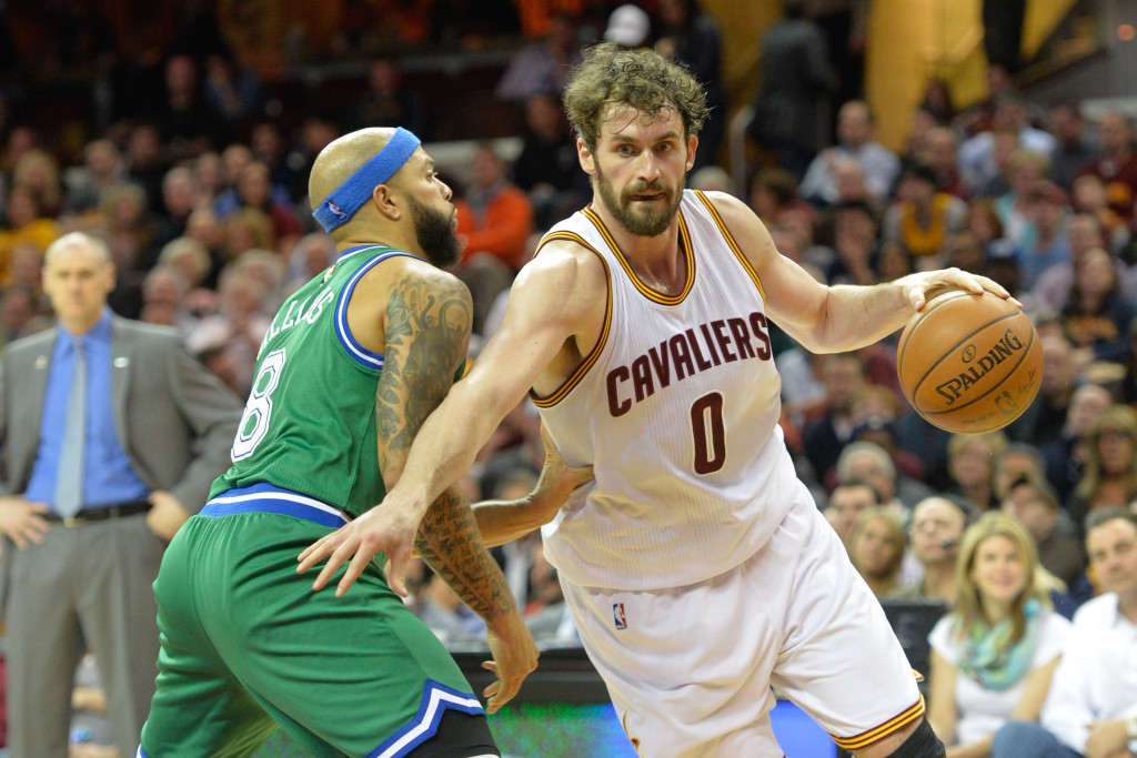 NBA: Dallas Mavericks at Cleveland Cavaliers