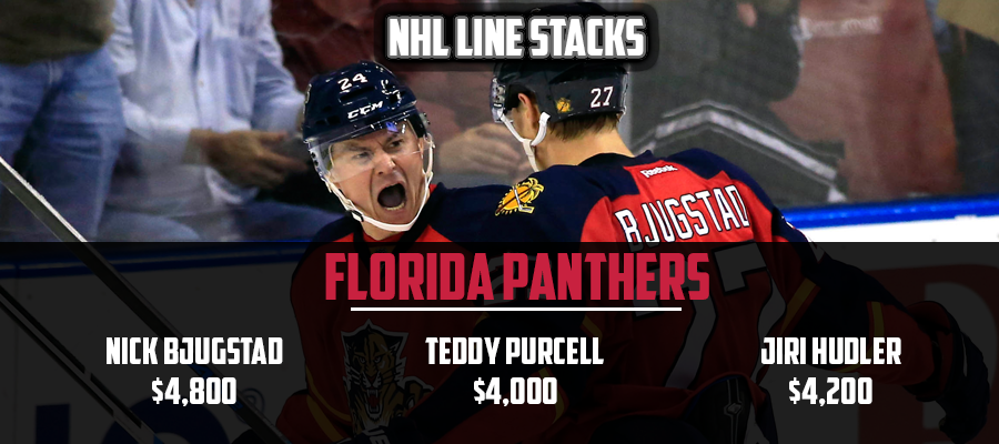 march 21 nhl line stacks