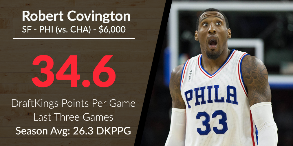 march 29 robert covington