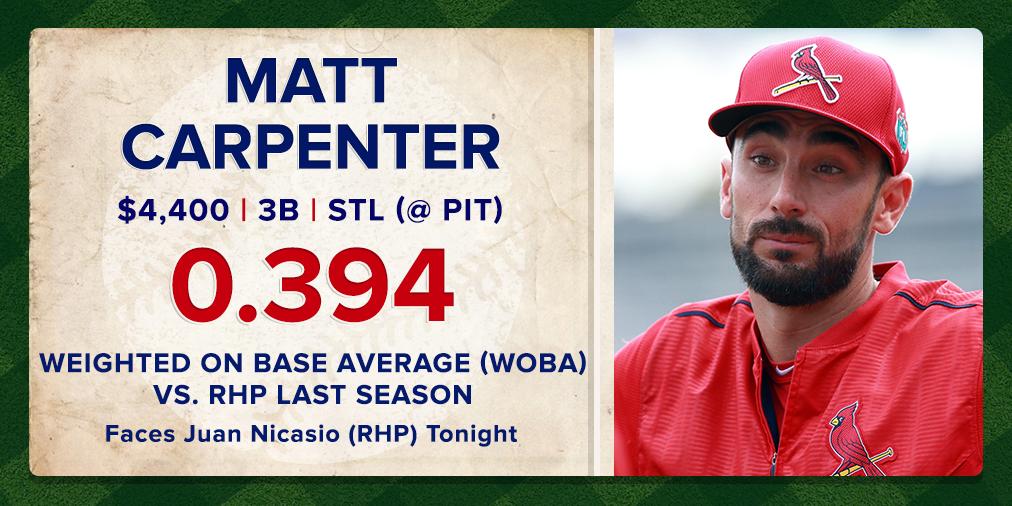 Apr6 - Matt Carpenter