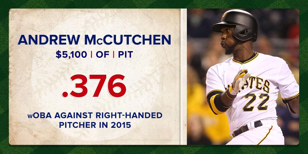 McCutchen Stats - April 11th
