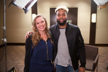 EXCLUSIVE VIDEO: OBJ + Rousey