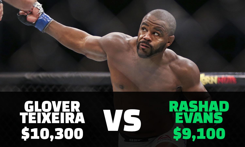 Teixeira vs. Evans