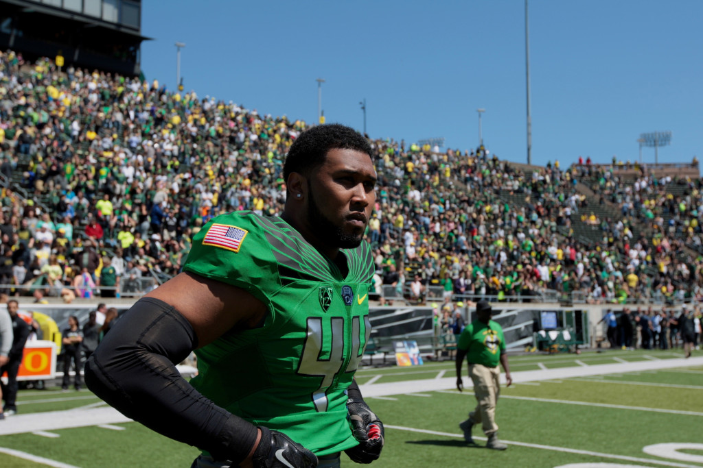 NCAA Football: Oregon-Spring Game