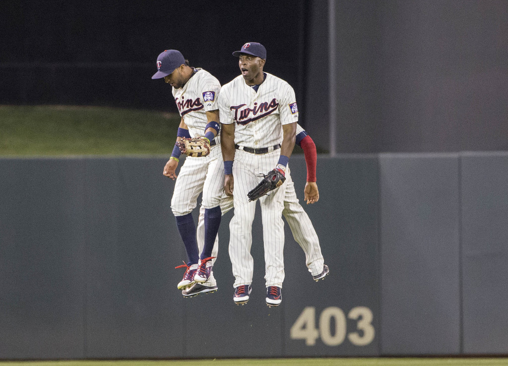 MLB: Cleveland Indians at Minnesota Twins