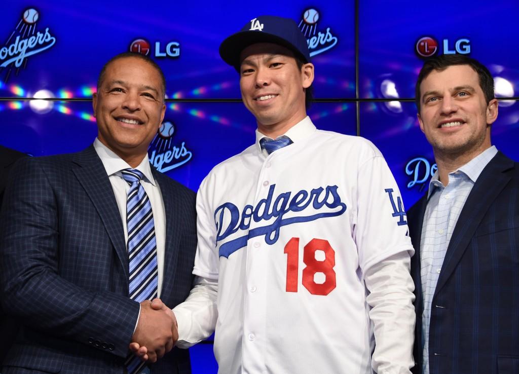 MLB: Kent Maeda Press Conference