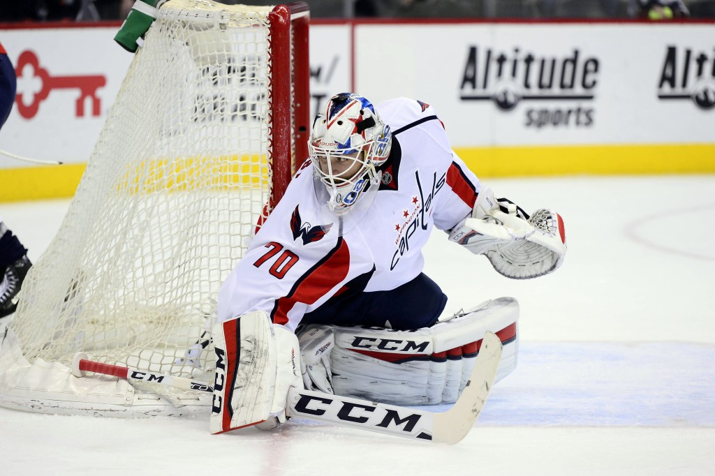 NHL: Washington Capitals at Colorado Avalanche