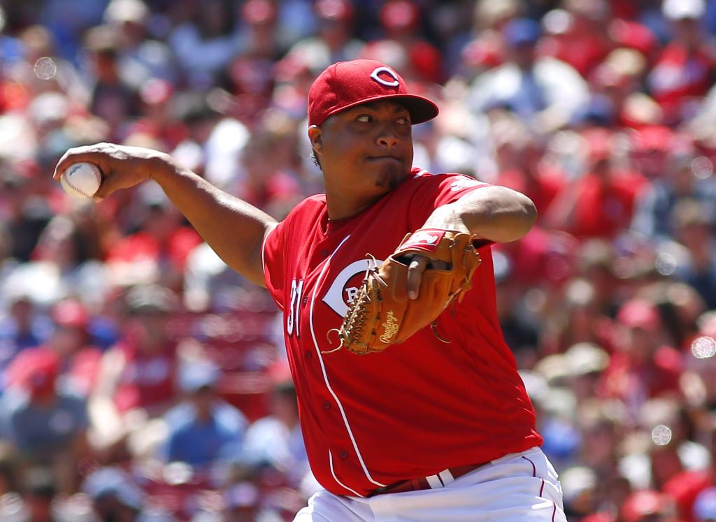 MLB: Chicago Cubs at Cincinnati Reds