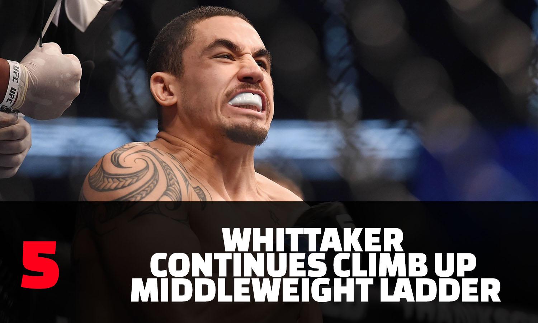 Whittaker - 5 Things