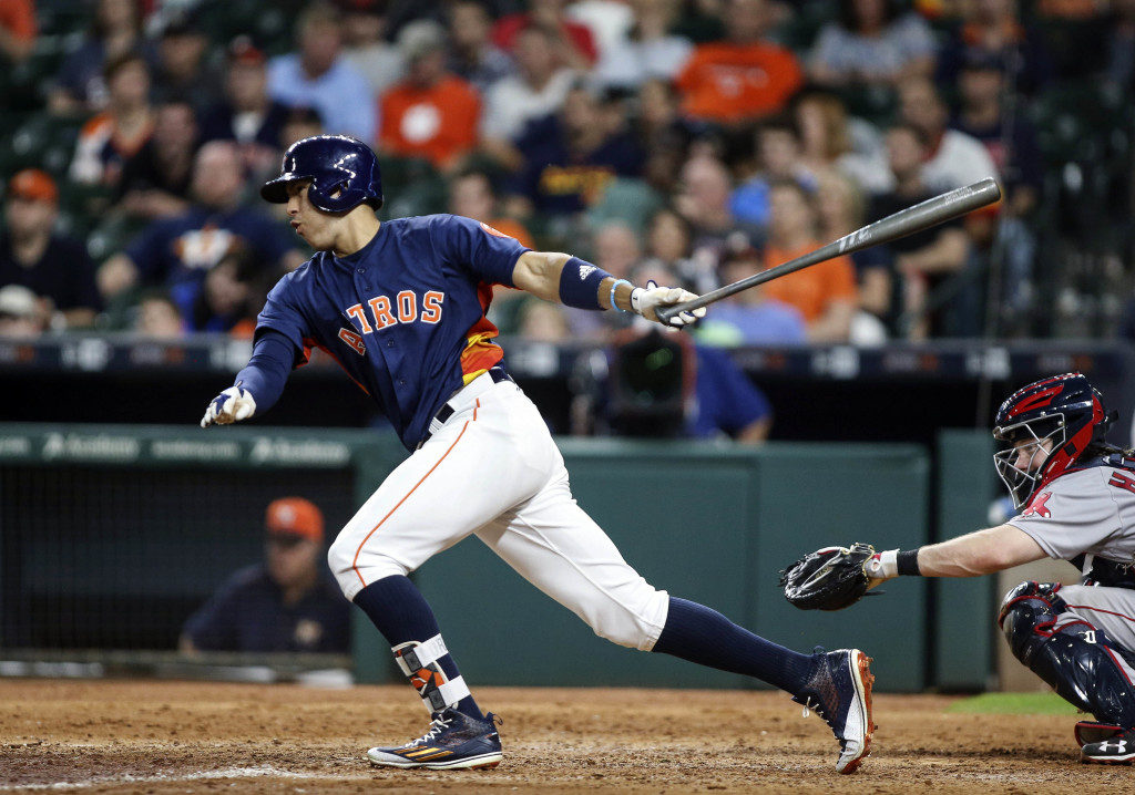 MLB: Boston Red Sox at Houston Astros