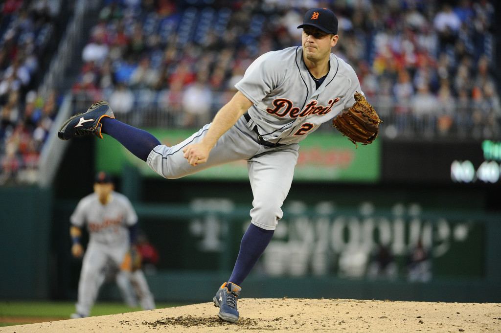 MLB: Detroit Tigers at Washington Nationals