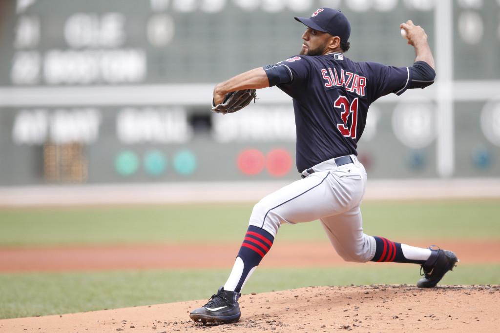 MLB: Cleveland Indians at Boston Red Sox