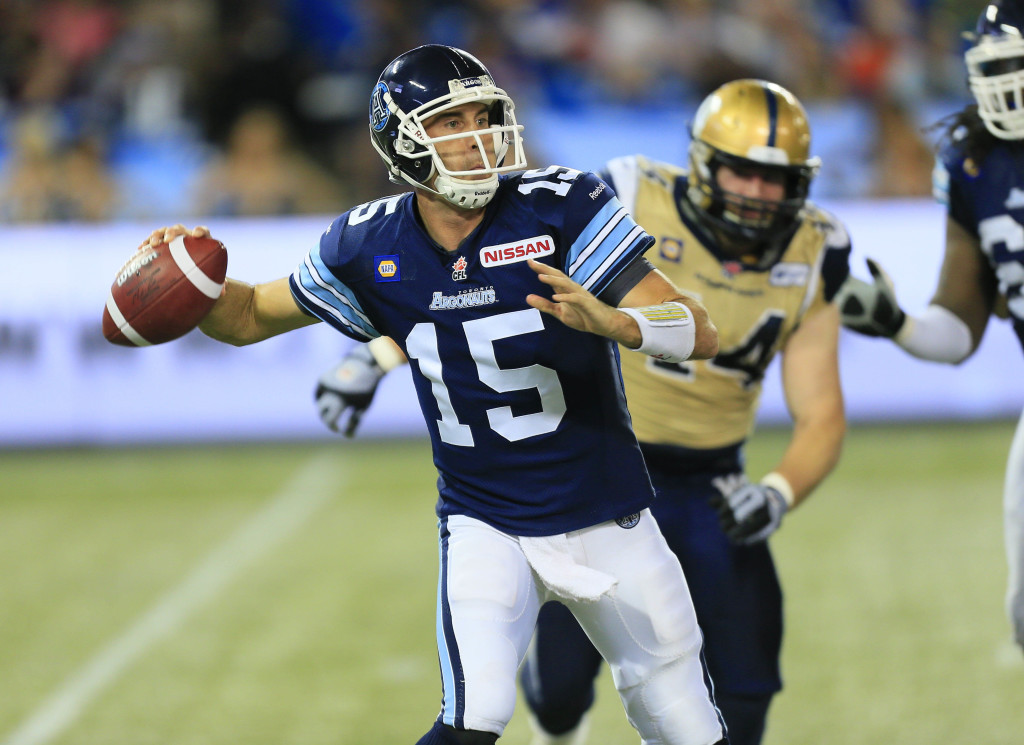 CFL: Winnipeg Blue Bombers at Toronto Argonauts