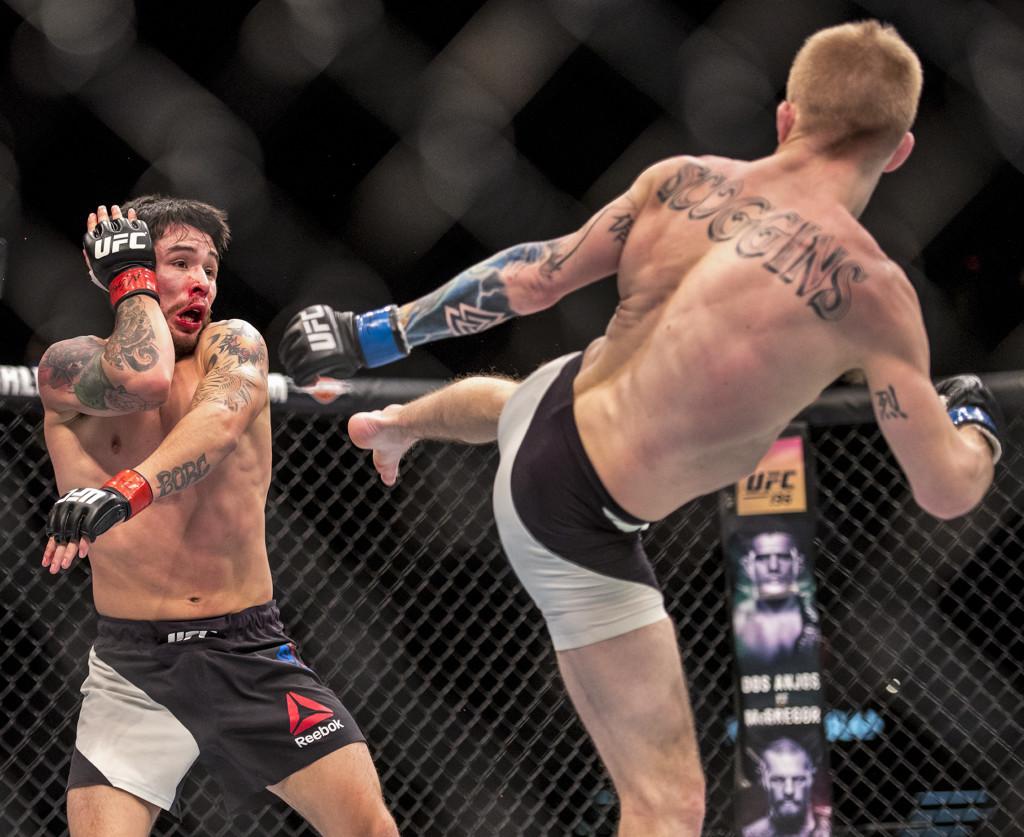 MMA: UFC Fight Night-Borg vs Scoggins
