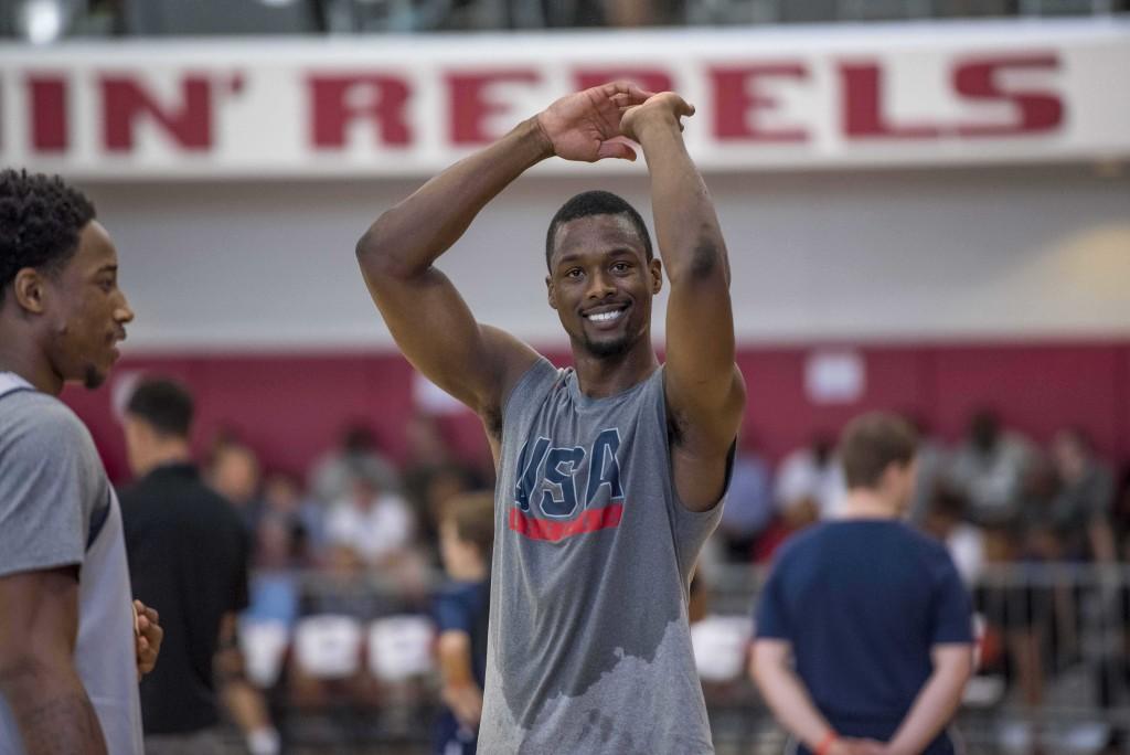 Basketball: USA Basketball training