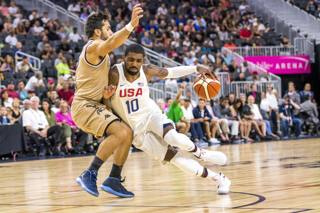 Basketball: USA Basketball Exhibition Game-Argentina at USA