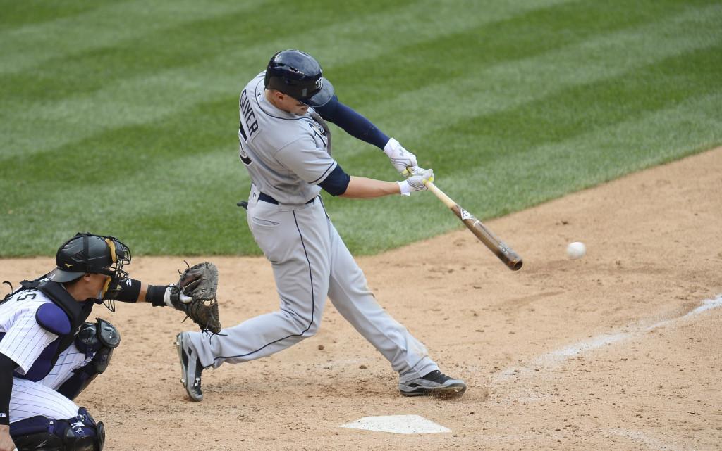 MLB: Tampa Bay Rays at Colorado Rockies