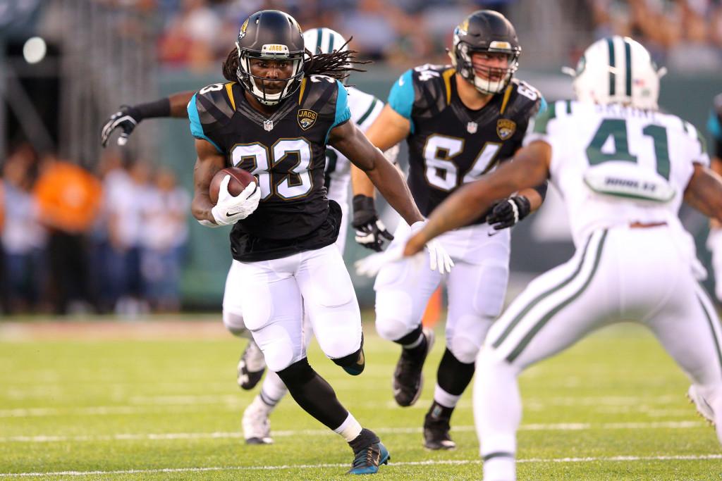 NFL: Preseason-Jacksonville Jaguars at New York Jets