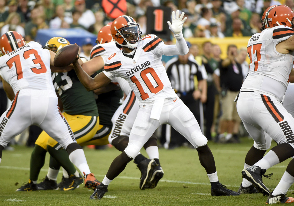 NFL: Preseason-Cleveland Browns at Green Bay Packers