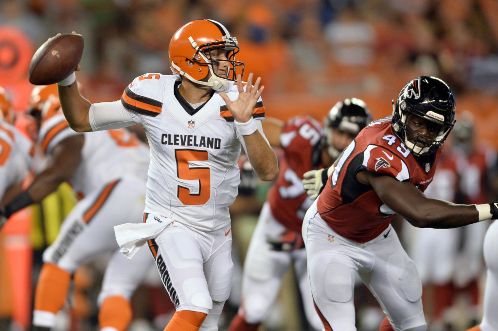 NFL: Preseason-Atlanta Falcons at Cleveland Browns