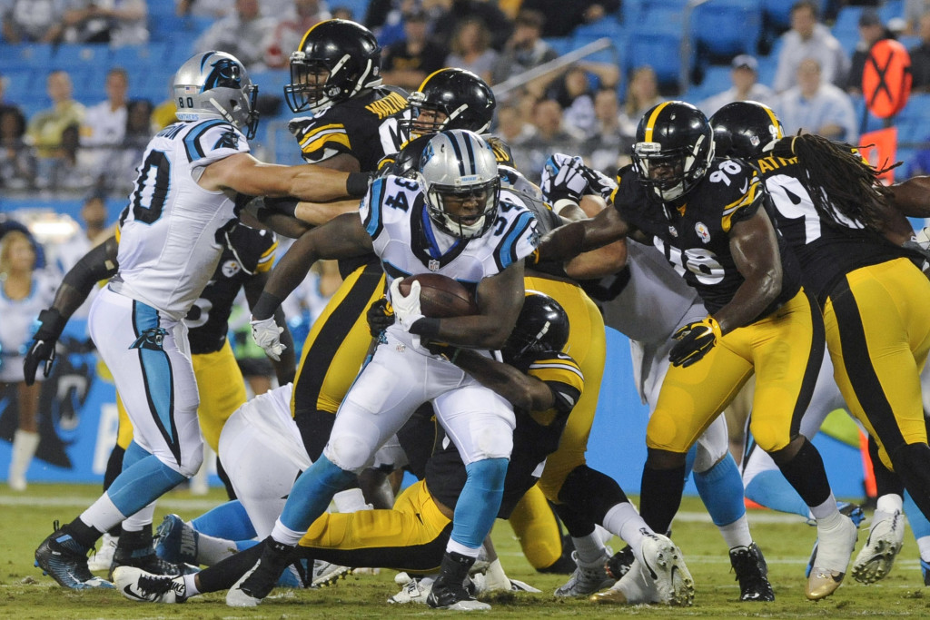 NFL: Preaseason-Pittsburgh Steelers at Carolina Panthers