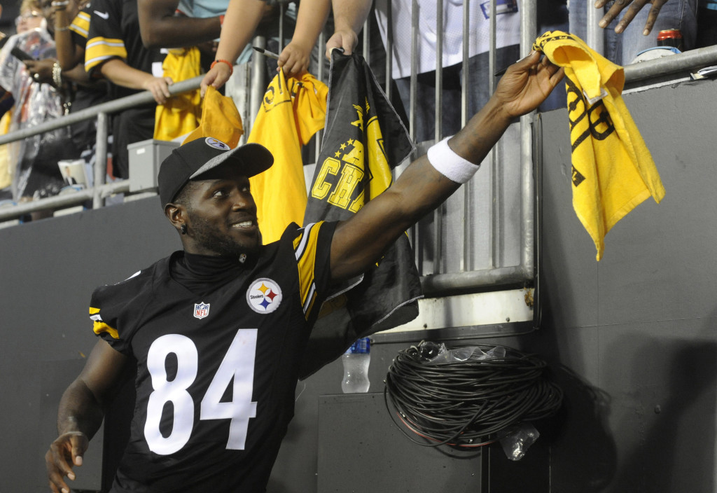 NFL: Preaseason-Pittsburgh Steelers at Carolina Panthers