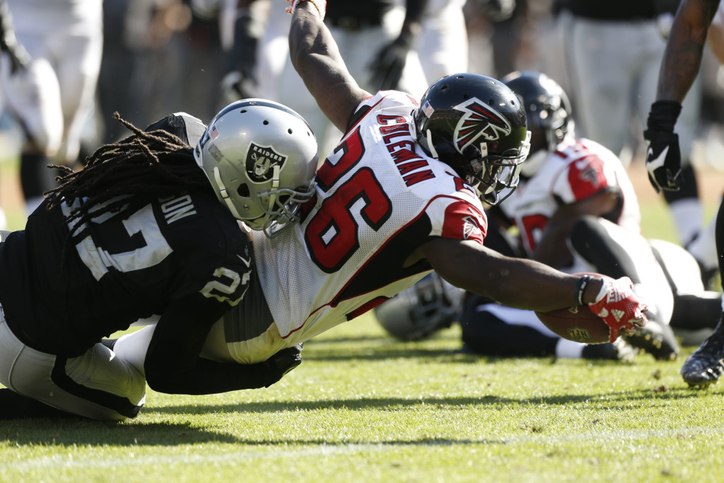 NFL: Atlanta Falcons at Oakland Raiders