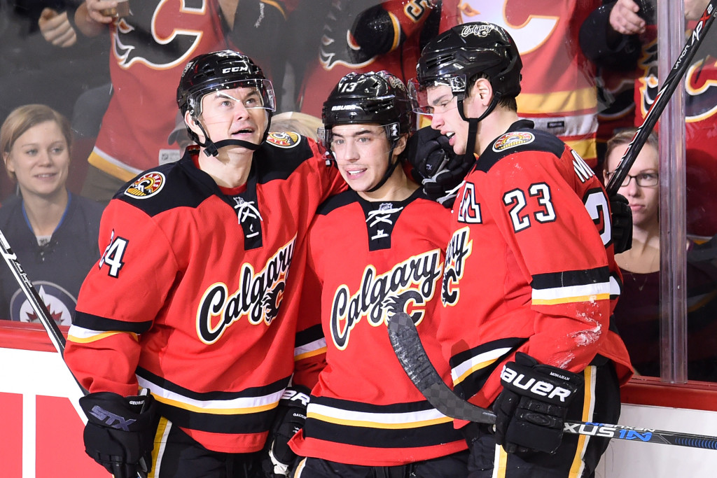 NHL: Winnipeg Jets at Calgary Flames