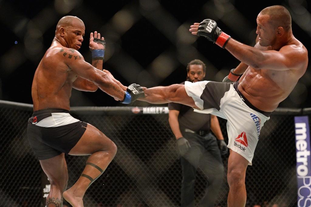 MMA: UFC 199-Lombard vs Henderson