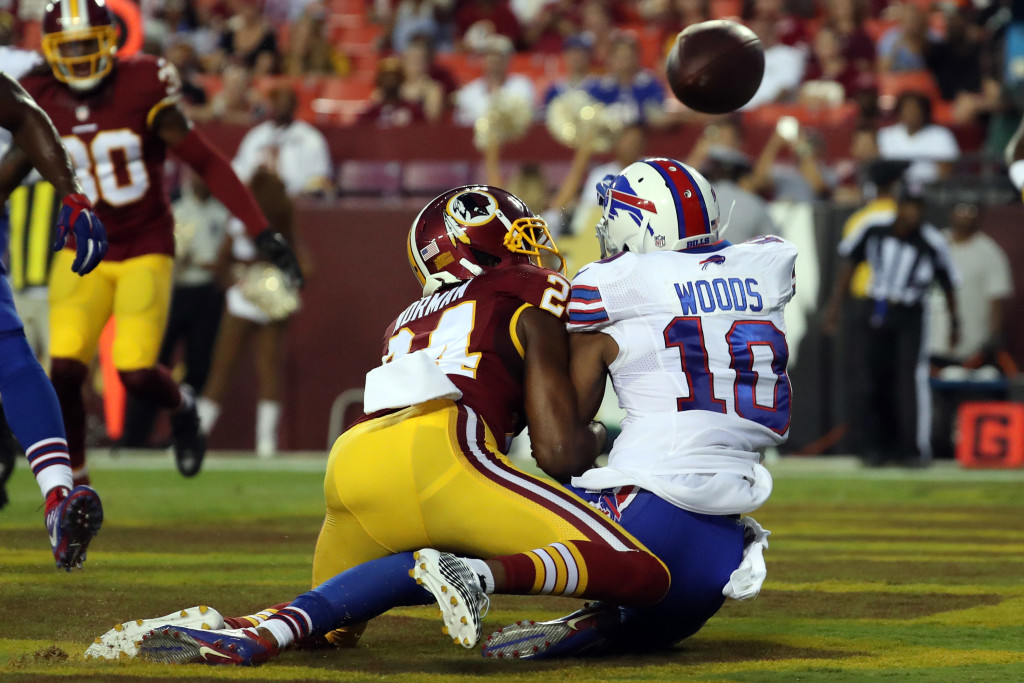 NFL: Preseason-Buffalo Bills at Washington Redskins