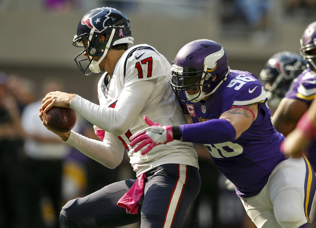 NFL: Houston Texans at Minnesota Vikings
