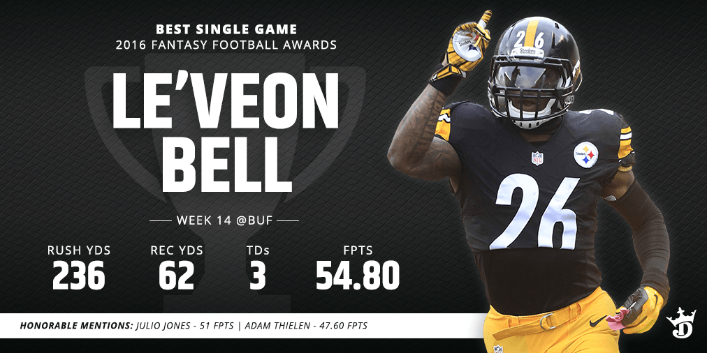 BEST GAME-LE'VEON BELL