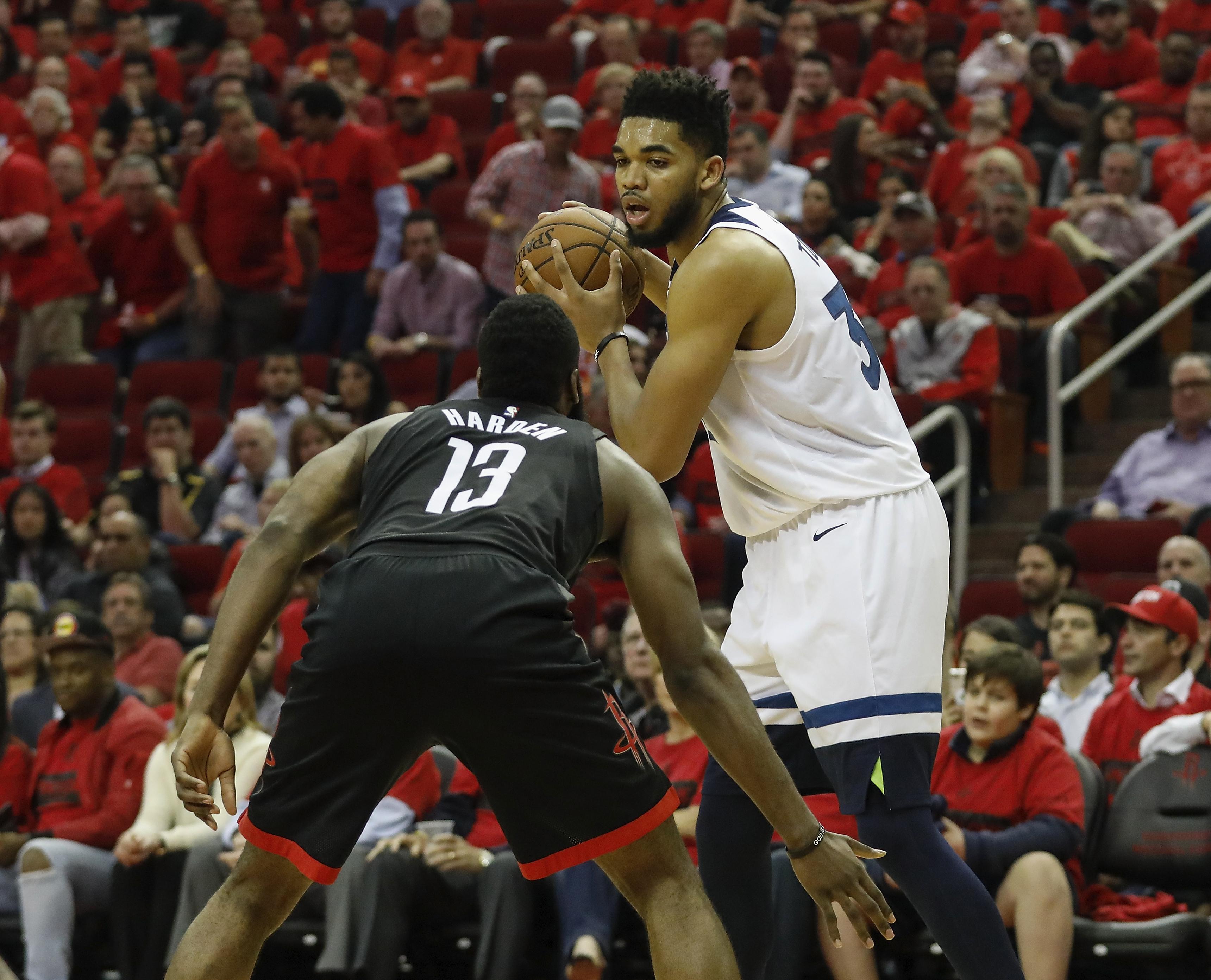 Minnesota Timberwolves v Houston Rockets - Game Five