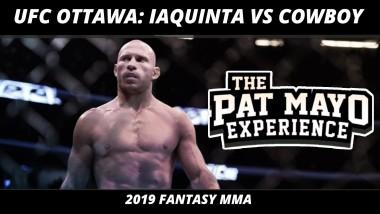2019 MMA Picks — UFC Ottawa DraftKings Picks, UFC on ESPN+ 9 Fight Previews & Brock Lesnar Retires