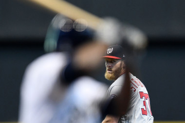 Stephen Strasburg is throwing his curveball more than ever before