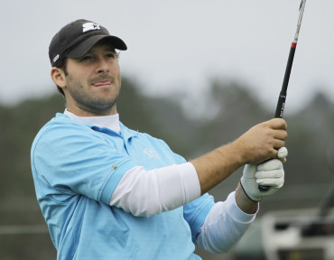 Tony Romo leads all golfers in total bets placed for AT&T Byron Nelson