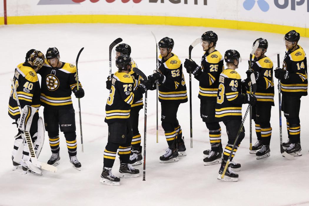NHL: Tampa Bay Lightning at Boston Bruins