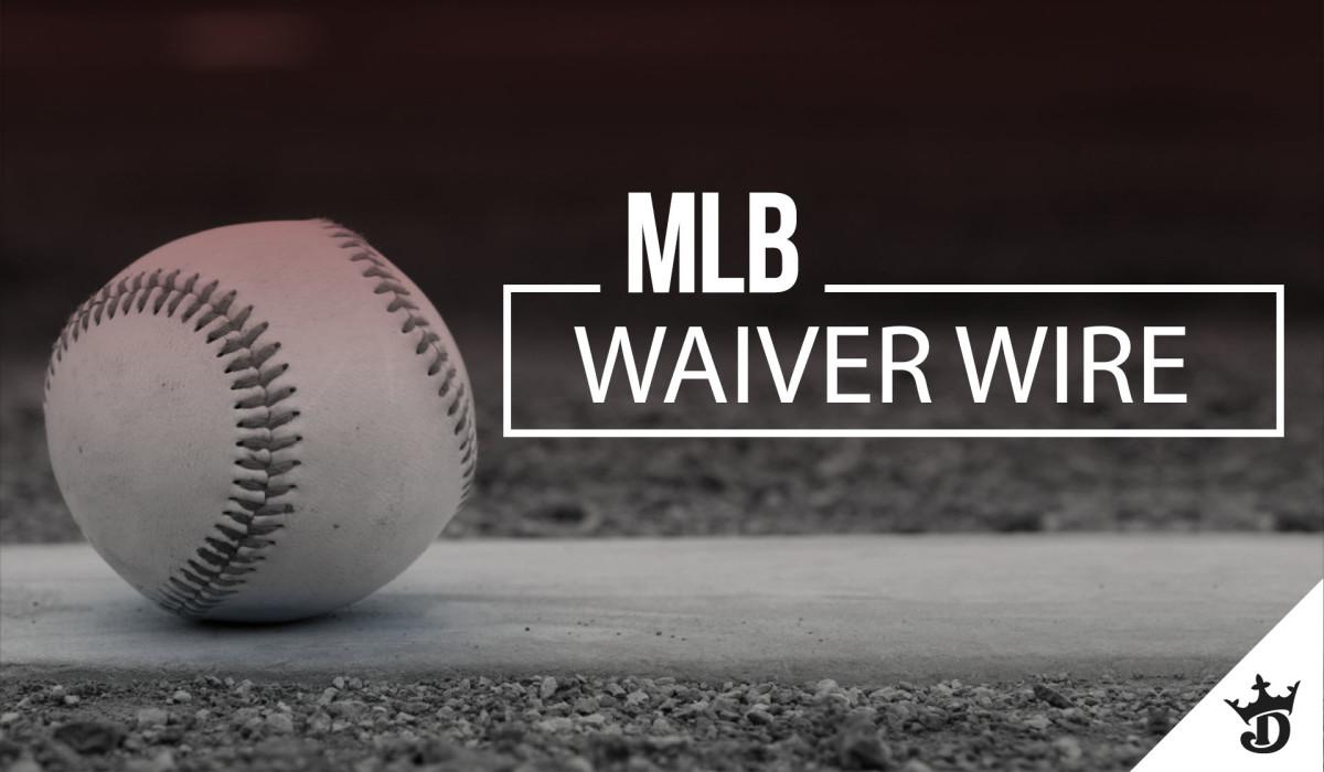Fantasy Baseball: Top MLB Waiver Wire Pickups for Week 12