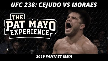 2019 UFC 238 DraftKings Picks — MMA Picks and Fight Previews