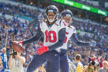DraftKings' Fantasy Football Rankings: Top 40 Wide Receivers for 2019 NFL Season