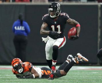 NFL Odds: Julio Jones, Antonio Brown, Saquan Barkley Among Top Player Props